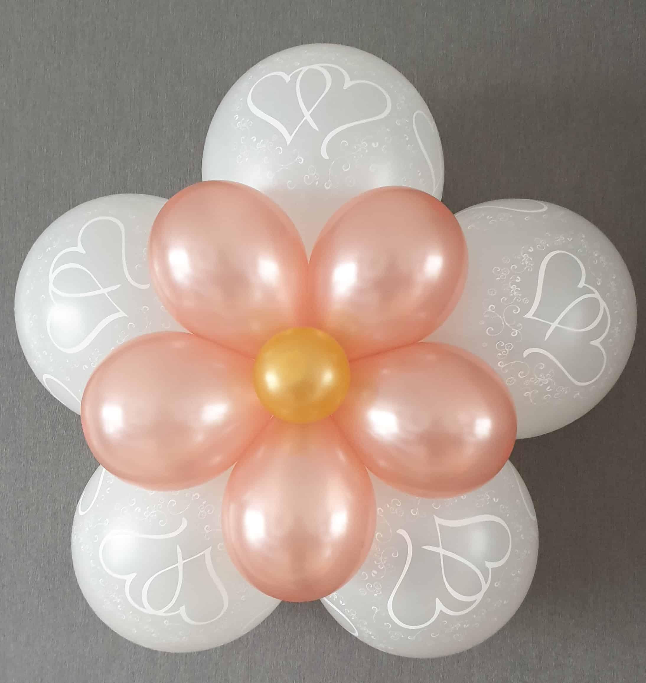 boondesigns ballondecoratie ballonbloem de luxe
