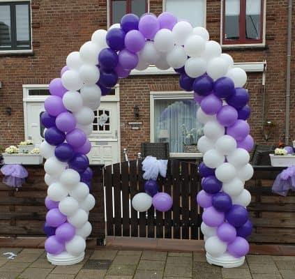 boondesigns ballondecoratie ballonnenboog