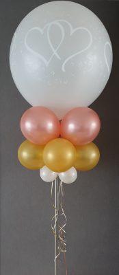 boondesigns ballondecoratie ballonpilaar frame