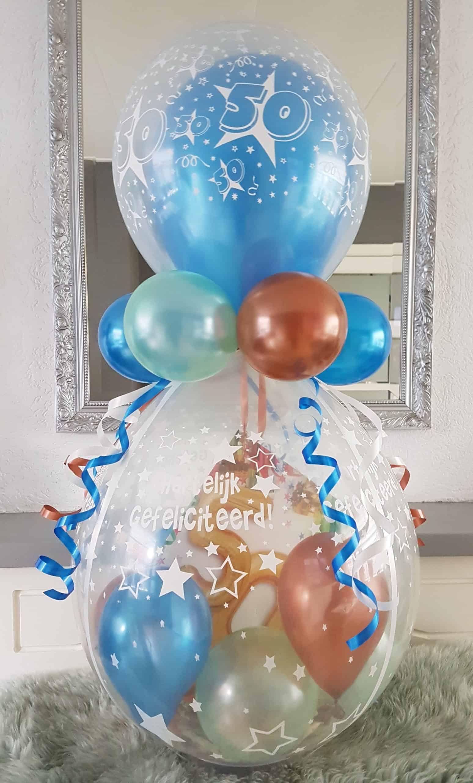 boondesigns ballondecoratie cadeau ballon