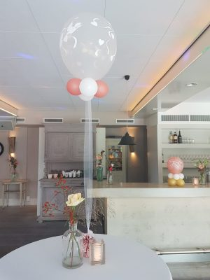 boondesigns ballondecoratie cloud bouncer standaard