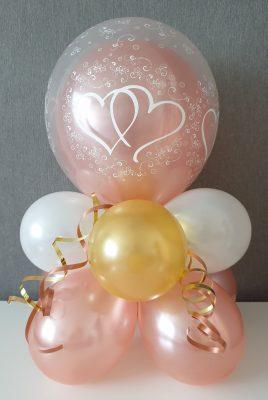 boondesigns ballondecoratie tafelstukje groot dubbel stuffed