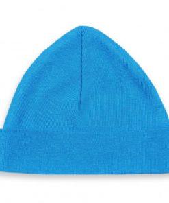 babymutsje turquoise 50-56