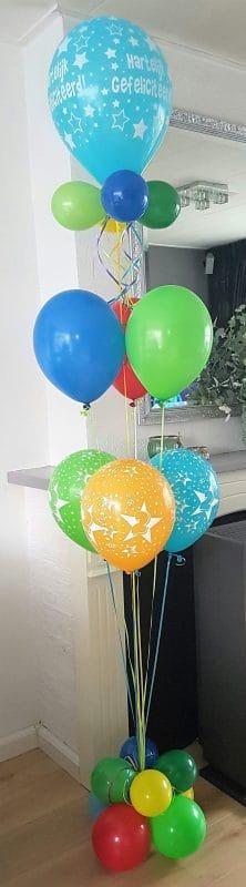 boondesigns ballondecoraties kinderverjaardag ballonboeket feest