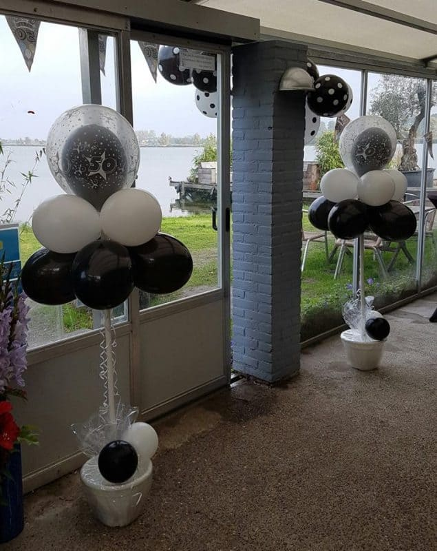 boondesigns ballondecoraties verjaardag ballonboompjes