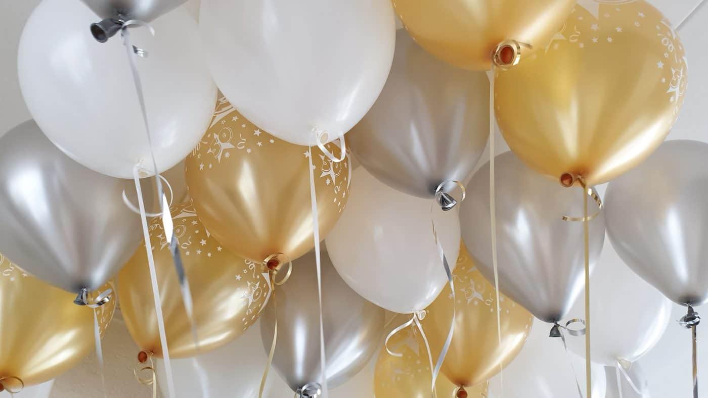 boondesigns ballondecoraties verjaardag helium ballonnen