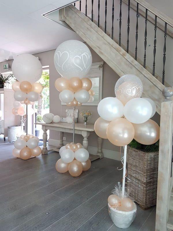 boondesigns ballondecoraties huwelijk jubileum gender reveal party kraamfeest bedrijven evenementen