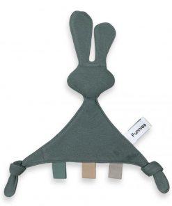 tutpop konijn snoes grey blue